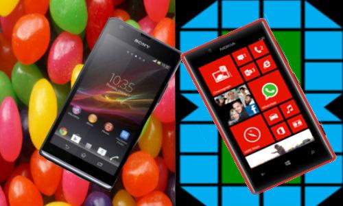 Sony Xperia SP vs Nokia Lumia 720: Jelly Bean & WP8  Handset Fight