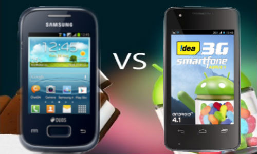 Idea Aurus 2 vs Samsung Galaxy Y Plus: Which Budget Handset is Better?