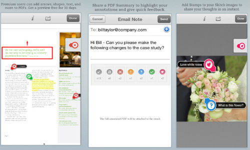 Evernote Skitch App for iPhone, iPad Updated: Gets PDF Annotations and Stamps