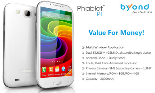Byond Phablet PI Launched in India at Rs 10999: Is It Better Than PII?