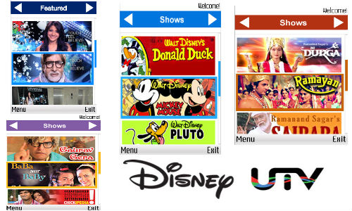 Disney UTV Launches Digital Freemium Apps for Feature Phones