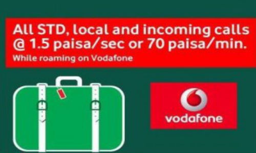 Vodafone Intros Roaming Packs for PrePaid Subscribers