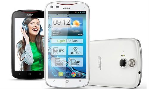 Acer Liquid E2 Announced With 4.5 inch qHD Display, Quad-Core