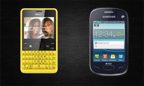 Nokia Asha 210 vs Samsung Rex 70: Era of Smart Feature Phones Begin