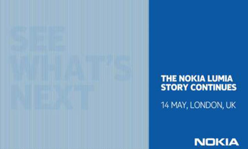Nokia Sends Invites for May 14 Event in London