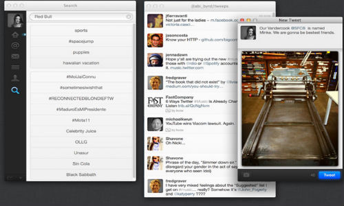 Twitter App For Mac Updated with Retina Display Support And More