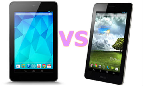 Asus FonePad vs Nexus 7: Kins Fight for Android Tablet Crown