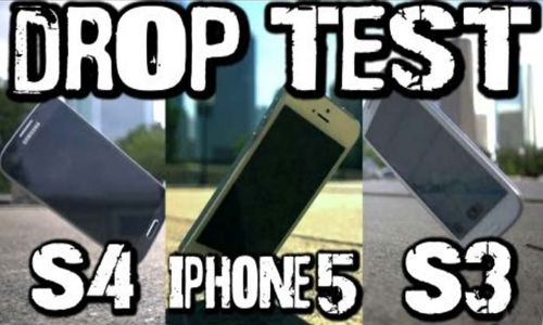 Samsung Galaxy S4 vs Apple iPhone 5 vs Galaxy S3 Drop Test
