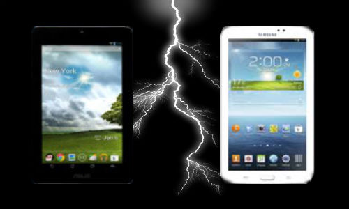 Asus FonePad vs Samsung Galaxy Tab 3: 3G Voice Calling Fight Stirs Up