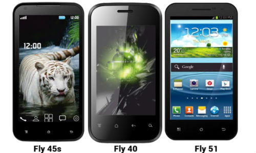 Fly F8s, F45s, F51, F40: 1 Tablet And 3 Android Smartphones Launched