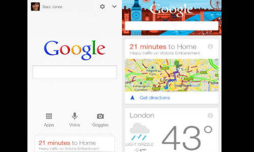 Google Search App Update Brings Google Now on iPhone and iPad