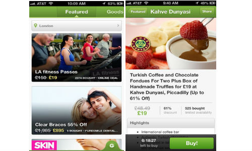 Groupon App for iPhone Users Now Available in India