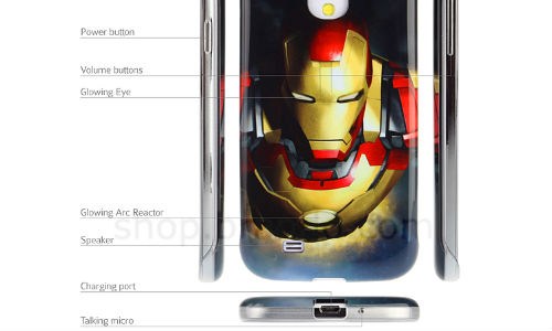 Protect Galaxy S4 With Marvel Iron Man 3 Beam Case