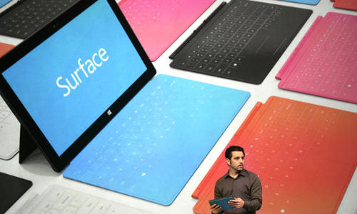 Microsoft Now Among Top 5 Tablet Sellers: Gearing up For Next Surface