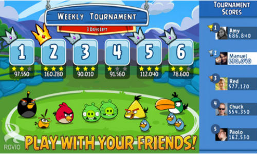 Facebook Game Angry Birds Friends Released For Android and iOS