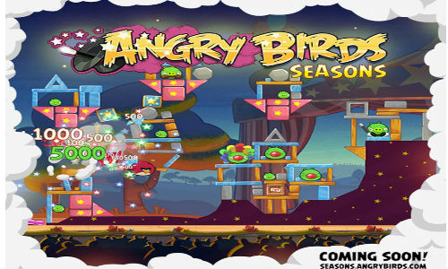 Angry Birds Seasons Magical Update to Come Soon