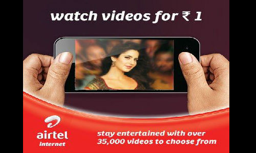 Airtel Introduces Rs 1 Mobile Video Downloads
