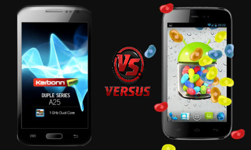 Karbonn A25 vs Micromax A115 Canvas 3D: Which Phablet Is a Good Buy?