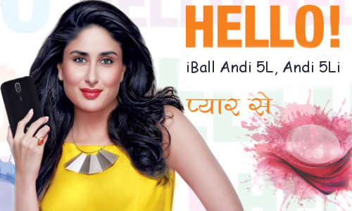 iBall Andi 5L And Andi 5Li Now On Sale at Rs 10490