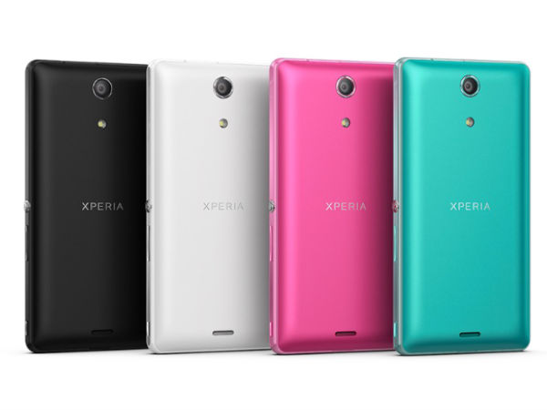 4 Color Options of Xperia ZR