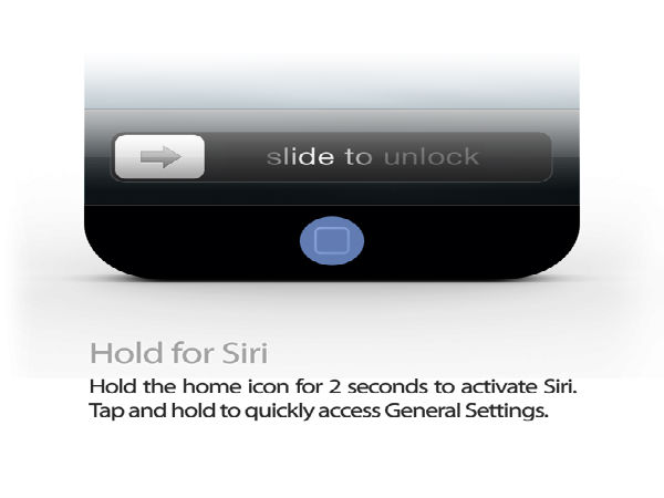Hold for Siri