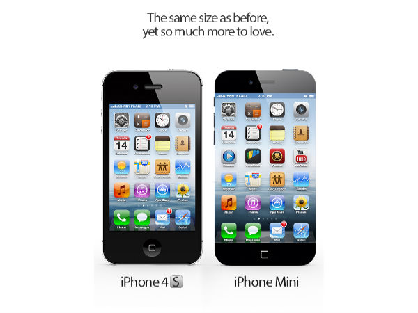 iPhone 4S vs iPhone Mini