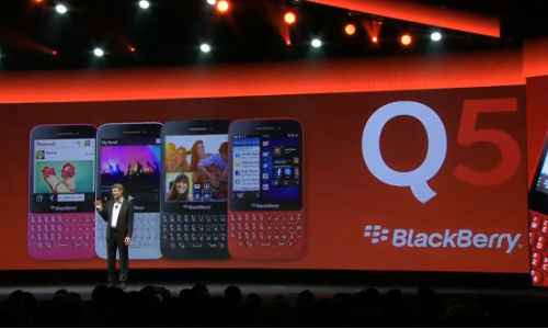 BlackBerry Q5: Budget Variant of Q10 Launched, To Hit Market in July