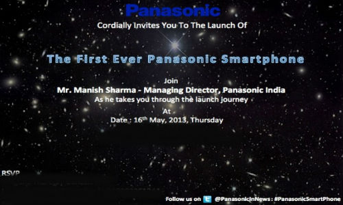 Panasonic Sends Out Invite for First Smartphone Launch in India