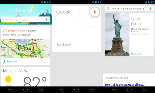 Google Search App for Android Updated with Google Now Features