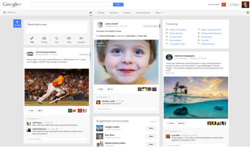 Google+ Completely Redesigned: Includes Auto Hashtags and More