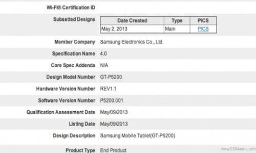 Samsung Galaxy Tab 3 10.1 Spotted on GLBenchmark Test
