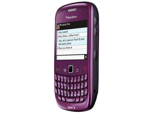 Blackberry Curve 8530: