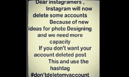 Instagram to Delete User Accounts Due To Technical Issues.. Really?