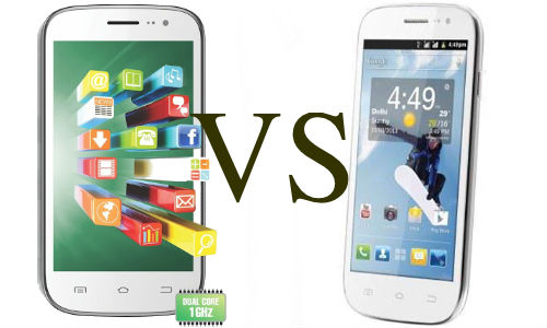 Celkon Signature One A107 vs Spice Smart Flo Pace 2 Mi 502