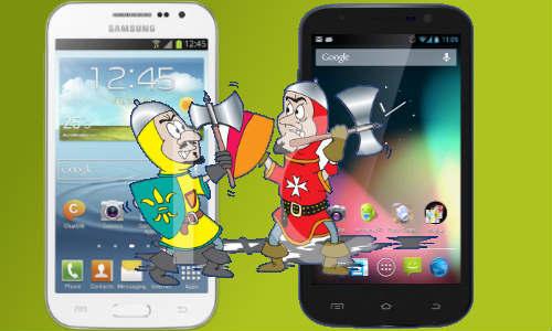 Samsung Galaxy Grand Quattro vs Zen Ultrafone 701 HD: Flagship Battle