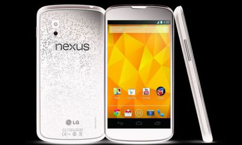 White LG Nexus 4 Now Available in India at Rs 25990