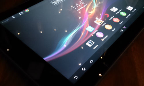 Sony Xperia Tablet Z: First Look