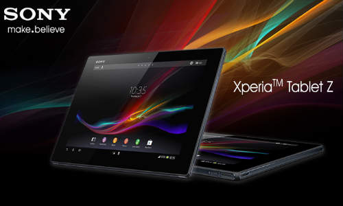 Xperia Tablet Z Out Now in India at Rs 46990