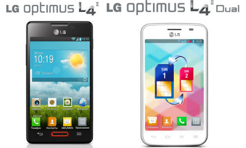LG Optimus L4 2 And Optimus L4 2 Dual: Budget Android 4.1 Handsets