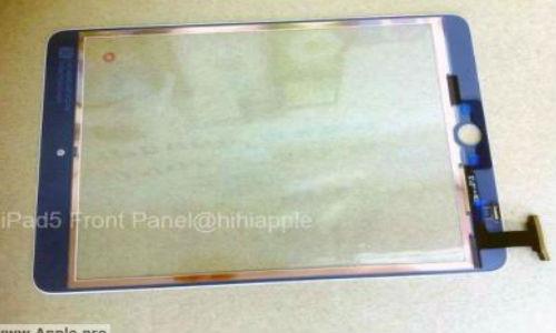 iPad 5 Front Panel Leaks Ahead of WWDC 2013