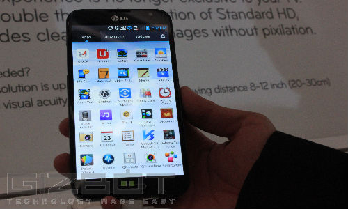LG Optimus G Pro Coming to India Next Month: Top 5 Discussed Features