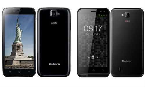 Vodafone 3G: Karbonn Titanium S5, Karbonn A12 1GB Internet Offer