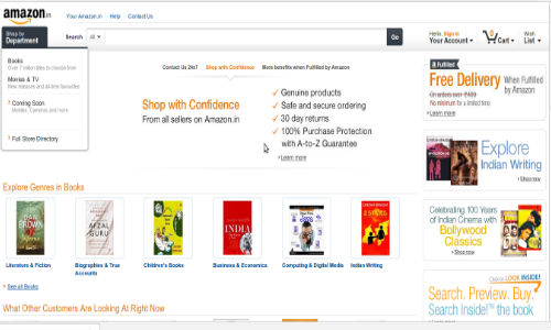 Amazon Online Store Finally Goes Live In India: The End of Flipkart ?