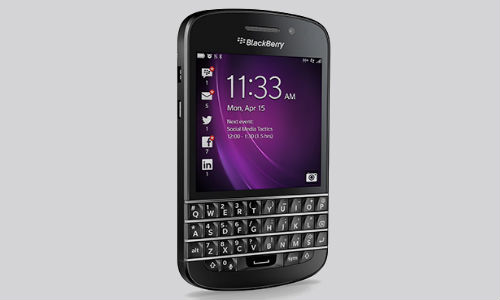BlackBerry Q10 Out in India at Rs 44,999: 5 Killer Features
