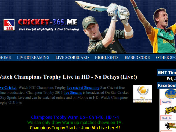 cricket 365 tv live