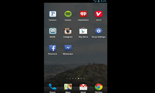 Facebook Home for Android Gets Favorite App Tray Feature