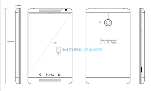 HTC One Max With 5.9 Inch Display Pegged for Q3 Launch