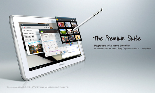 Samsung Prepping 12 Inch High-Res Display Tab to Compete iPad Maxi