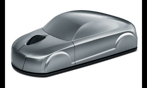 Audi Launches Wireless Mouse In A Shape Of A Car
