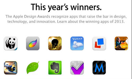 WWDC 2013: A Look At The List of Winners At Apple Design Awards